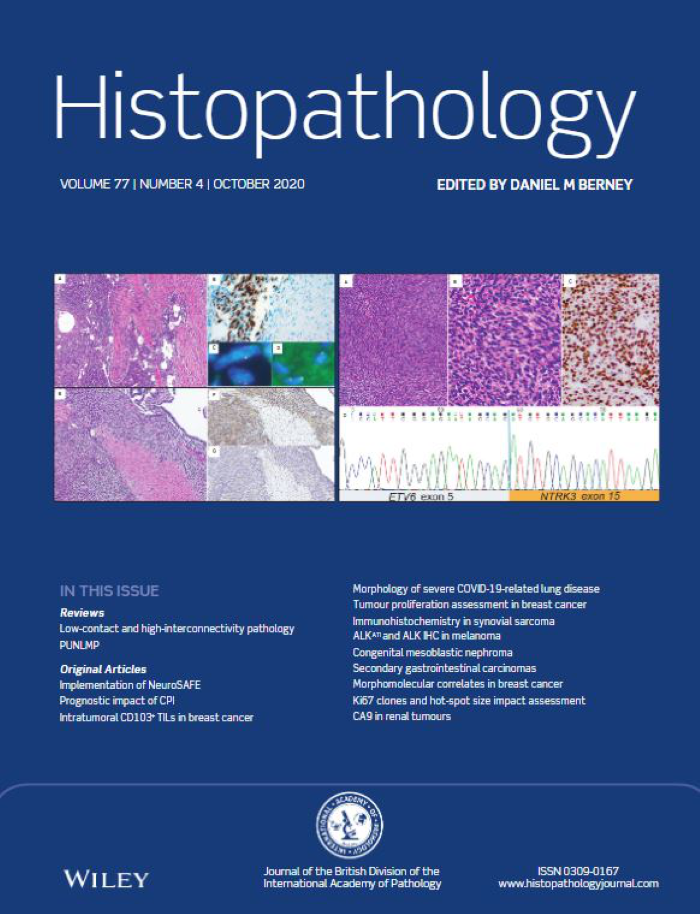 Histopathology Latest Journal Issue Now Available image